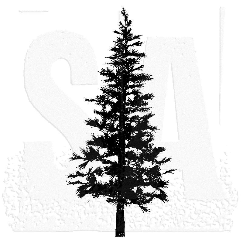 Tall Pine Tree Silhouette Png - ClipArt Best