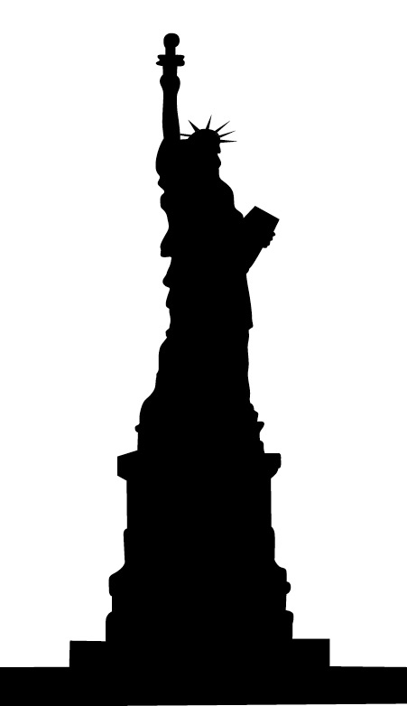 Statue Of Liberty Drawing Outline