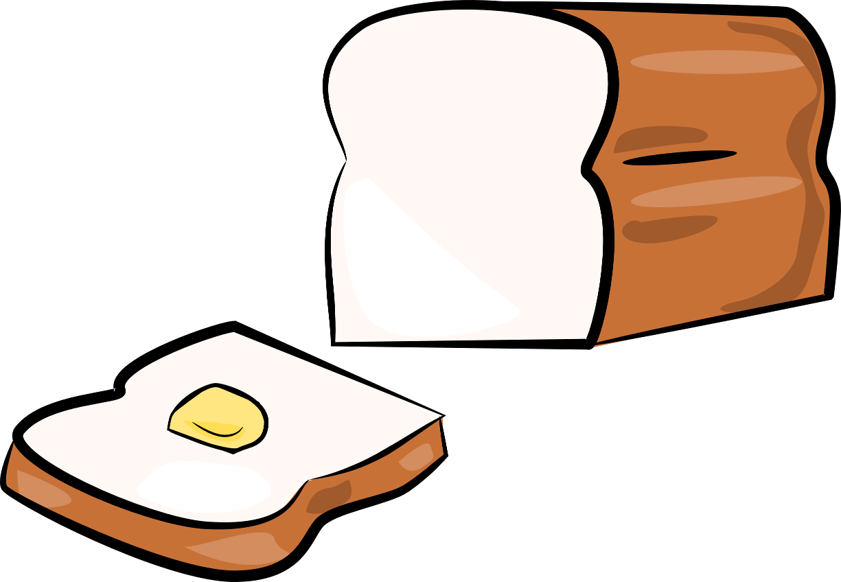 Bread Loaf Clip Art - ClipArt Best