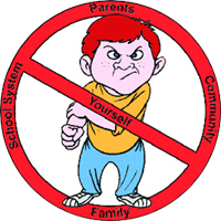 anti bullying clip art clipart best