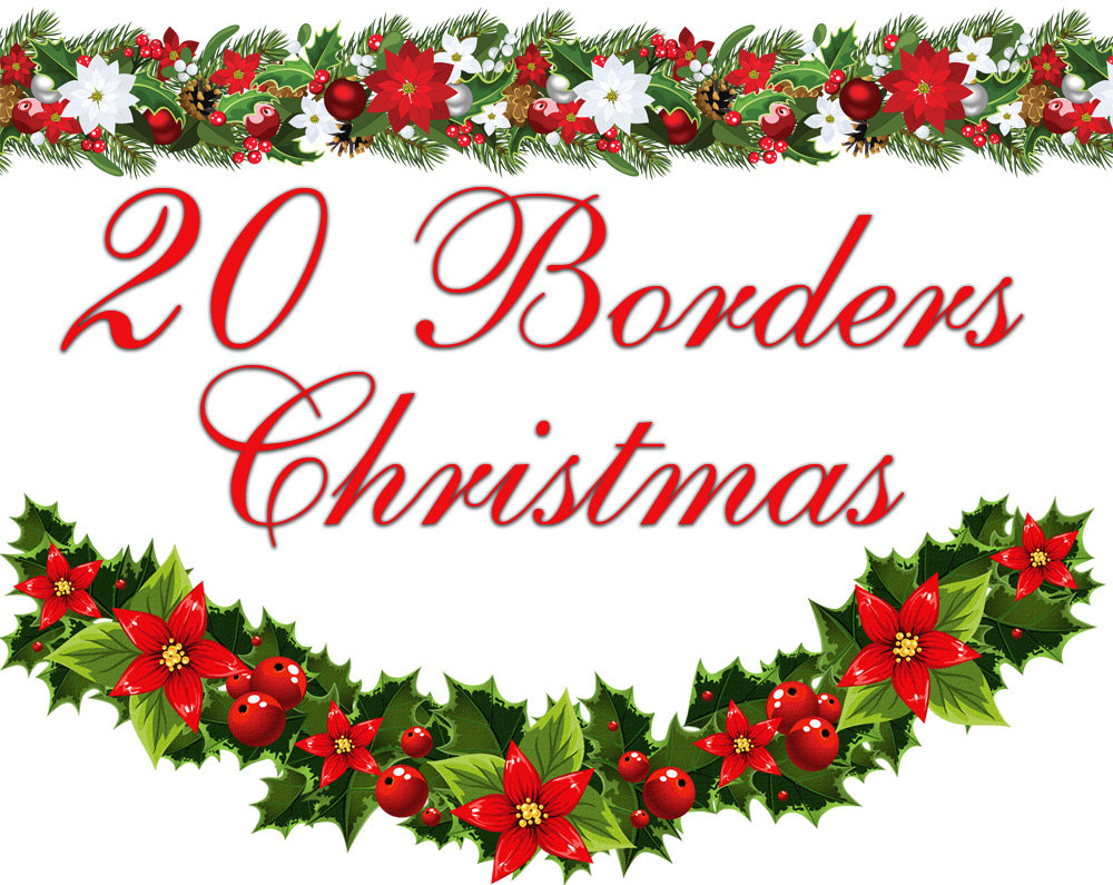 This is an image of Fabulous Christmas Letter Borders Free Printable