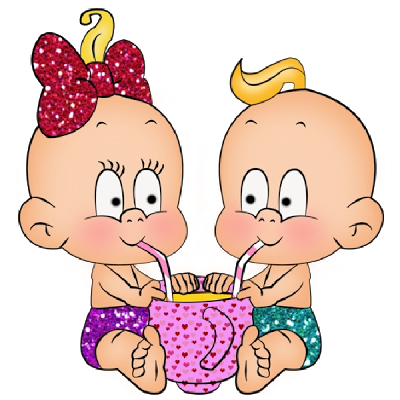 BABY BOY CARTOON PIC -...Cute Baby Girl And Boy