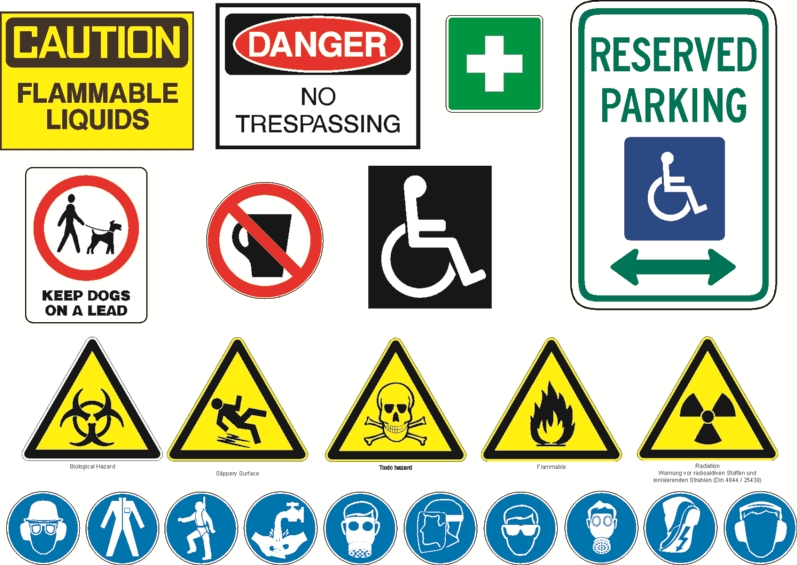 Safety Signs in the Workplace  Danger Signs  Quillcom