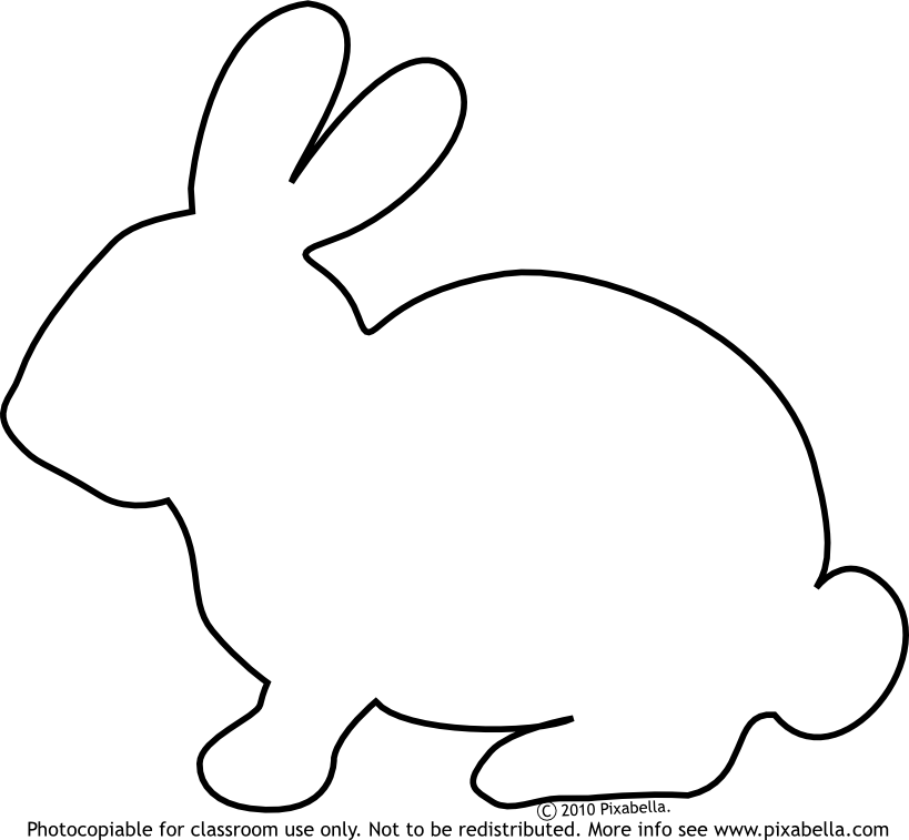 Line Drawing Bunny : Bunny line drawing clipart best