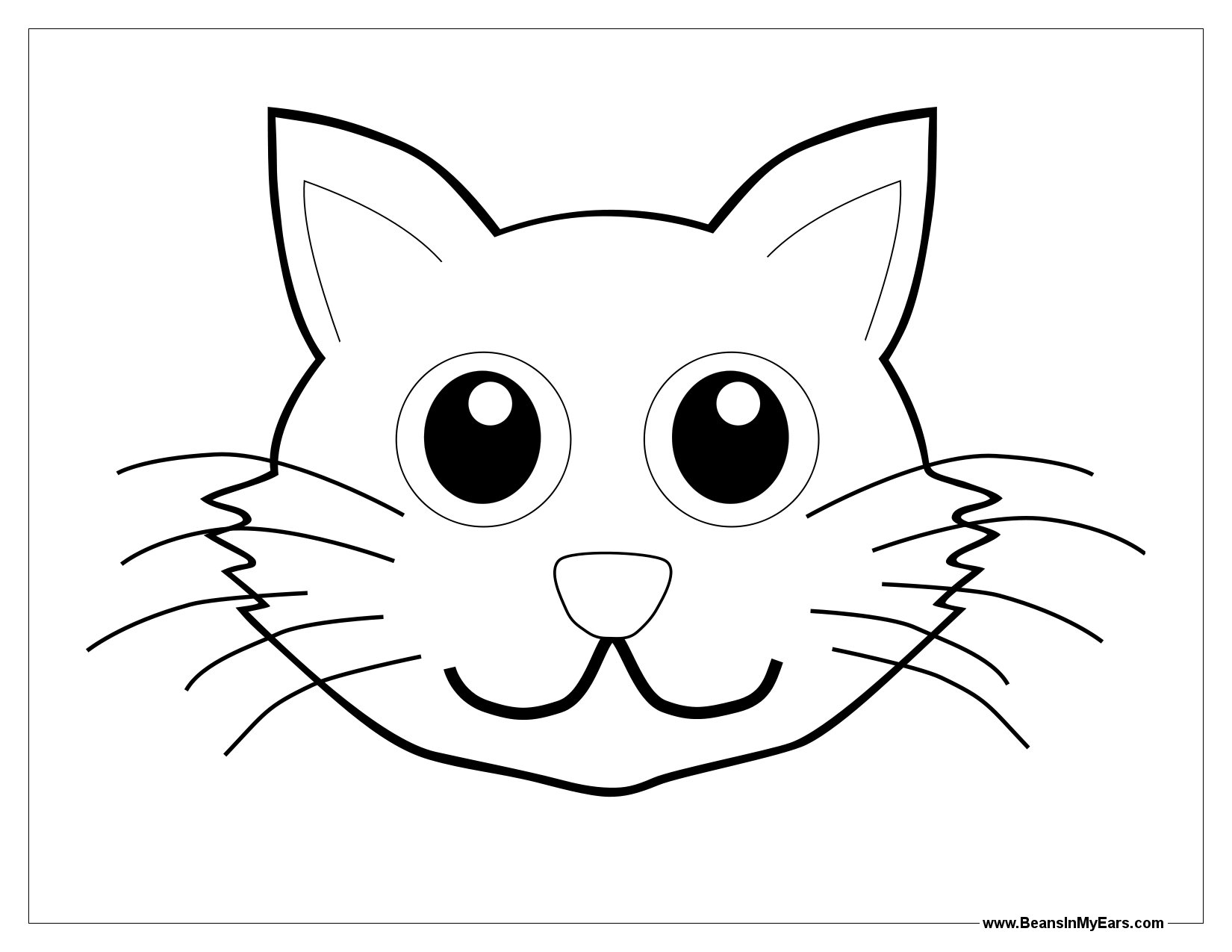 Line Drawing Of Child S Face : Line art faces animals clipart best