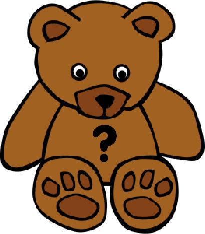 Printable Sheets for 'Guess The Bear's Name' Competitions