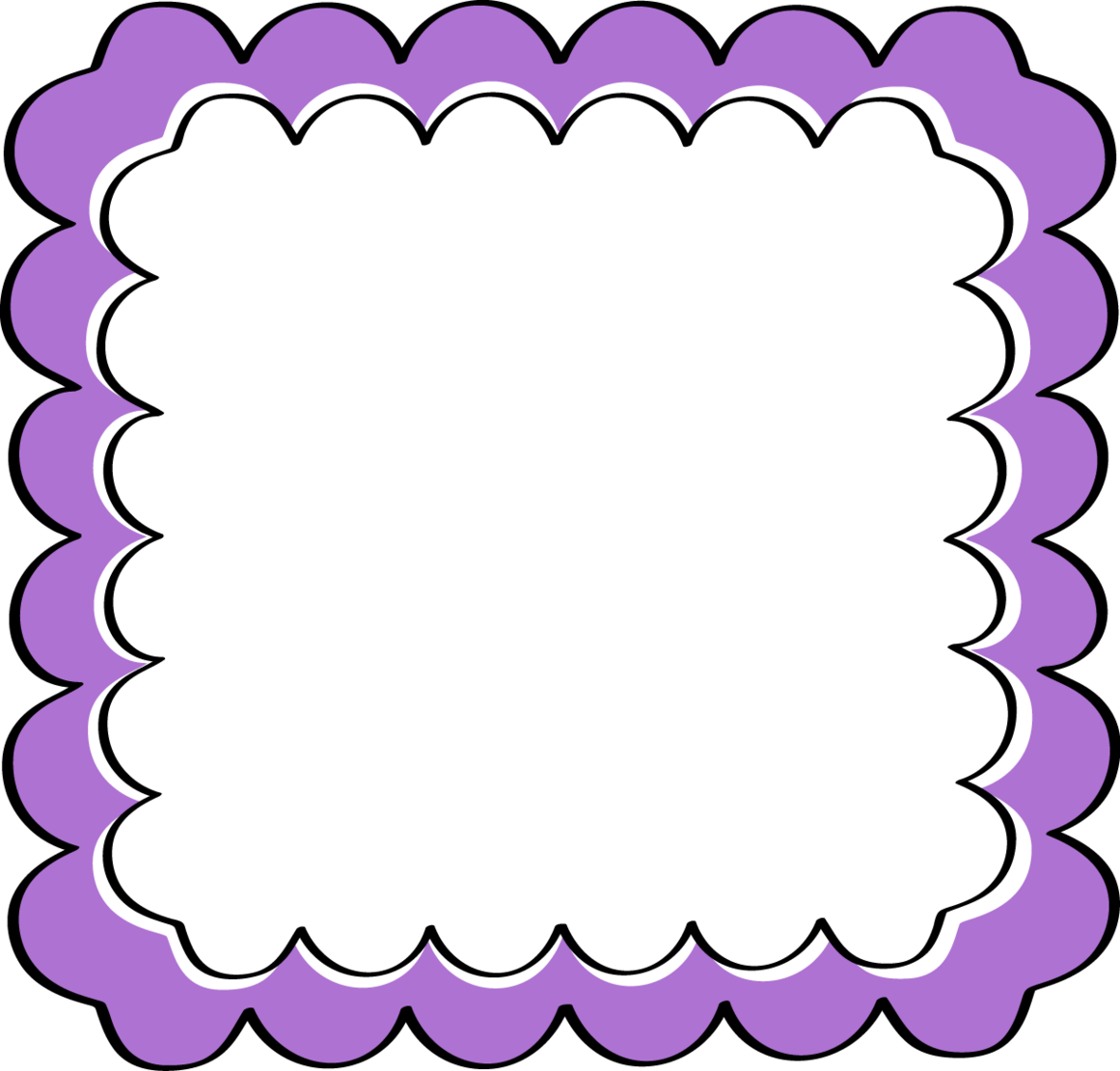 Purple Chevron Border Clipart - Free to use Clip Art Resource