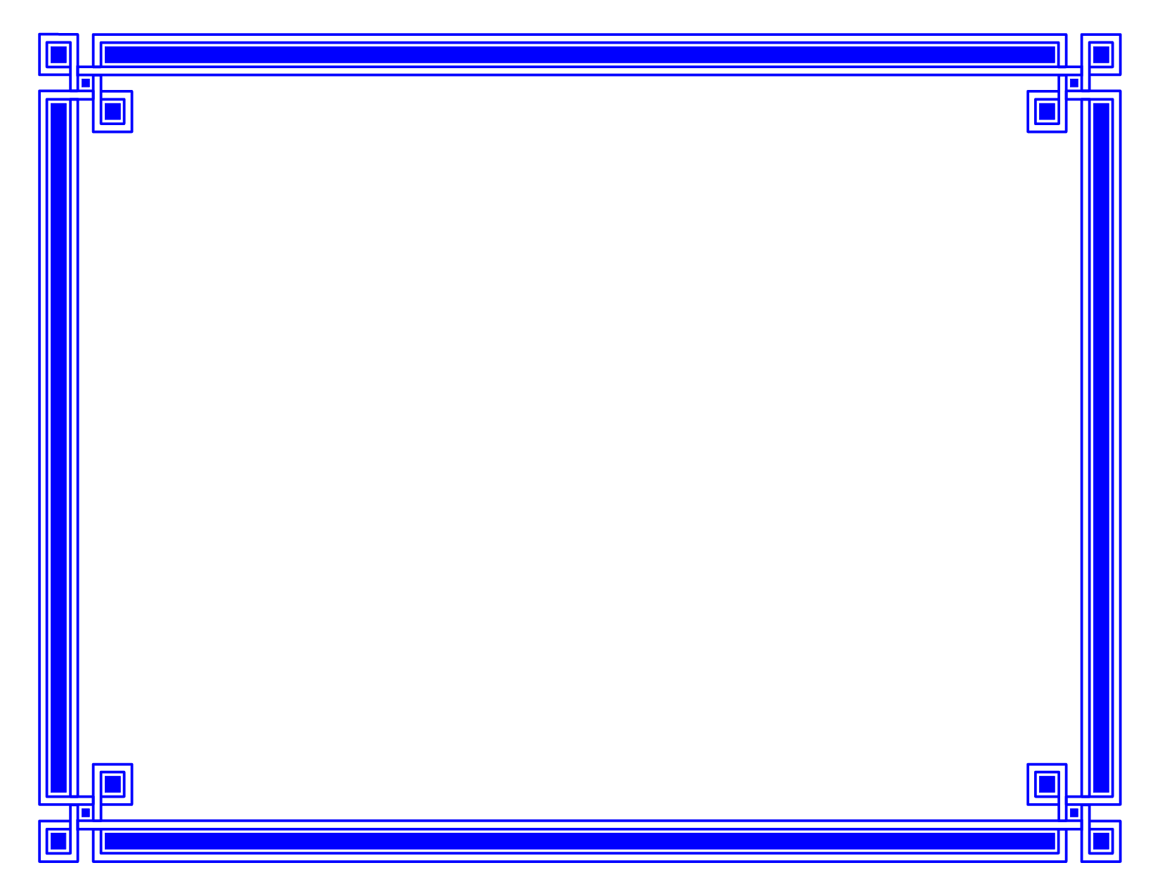 Blue Border | Free Download Clip Art | Free Clip Art | on Clipart ...