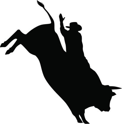 Bull Riding Clipart - ClipArt Best