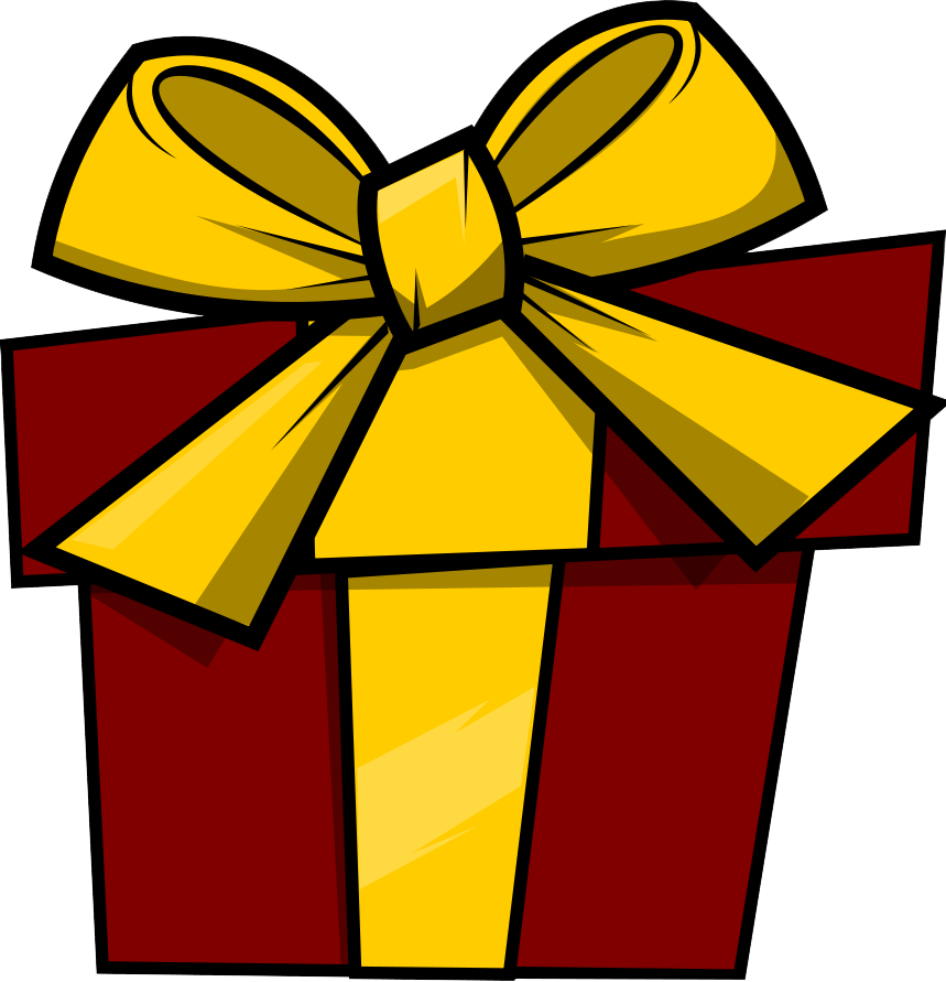 Pretty Christmas Presents Clipart