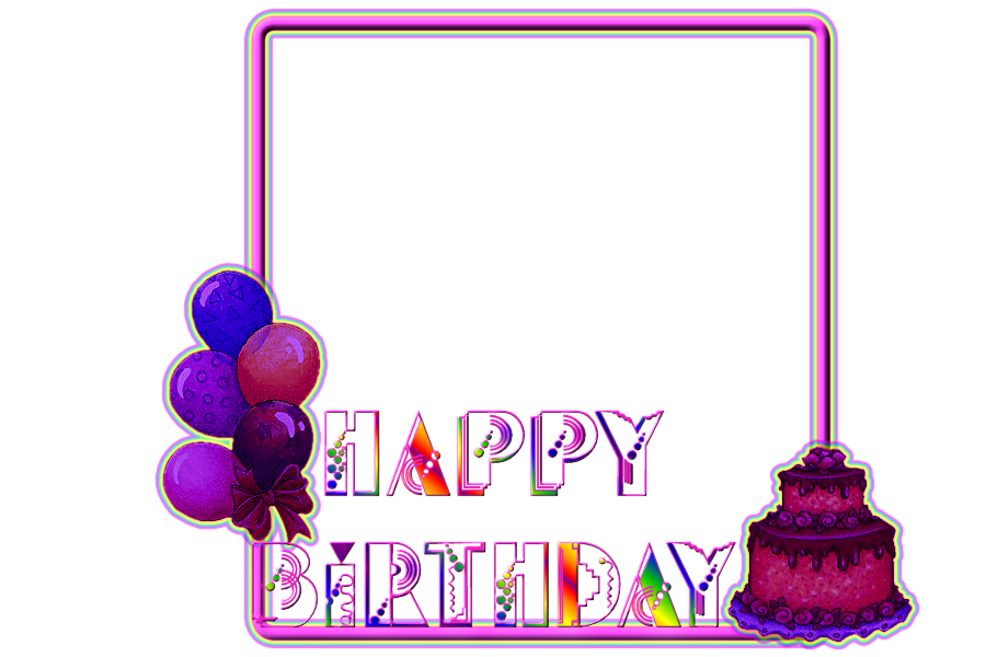 Birthday picture frames free psd download 95 Free psd