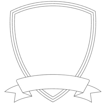 blank coat of arms banner - photo #15