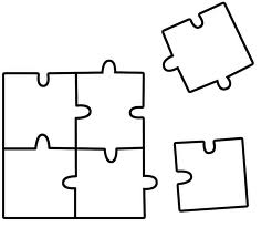 12 piece pyramid puzzle how to make
