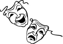 20 theatre masks comedy tragedy . Free cliparts that you can download ...