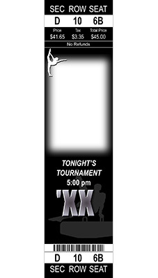 sports ticket template free download .