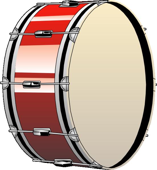 Bass Drum clip art - vector clip art online, royalty free ...