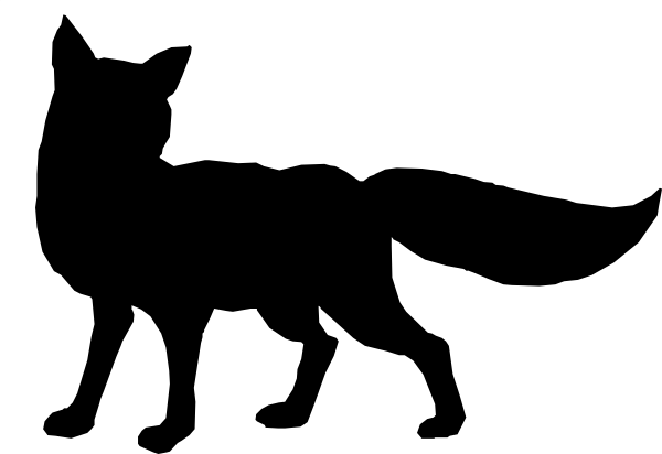 Fox Silhouette - ClipA...