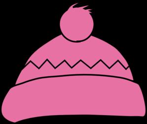 Pink Winter Hat clip art - vector clip art online, royalty free ...