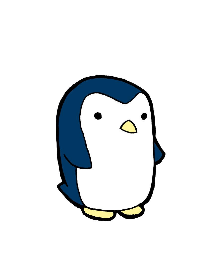 Cute Penguin Drawings - ClipArt Best