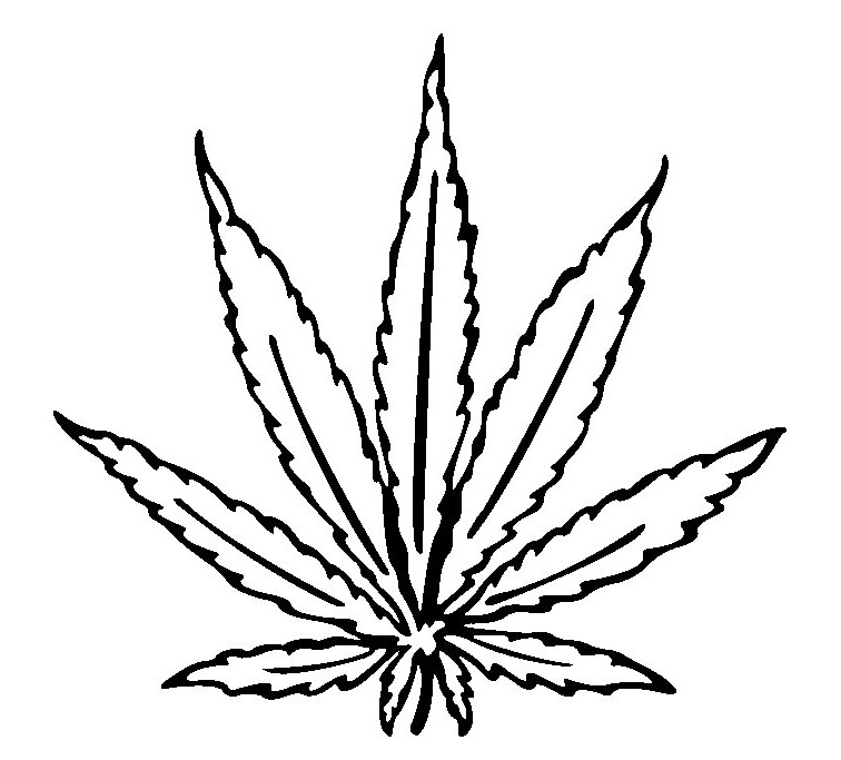 Weed Drawing - ClipArt Best