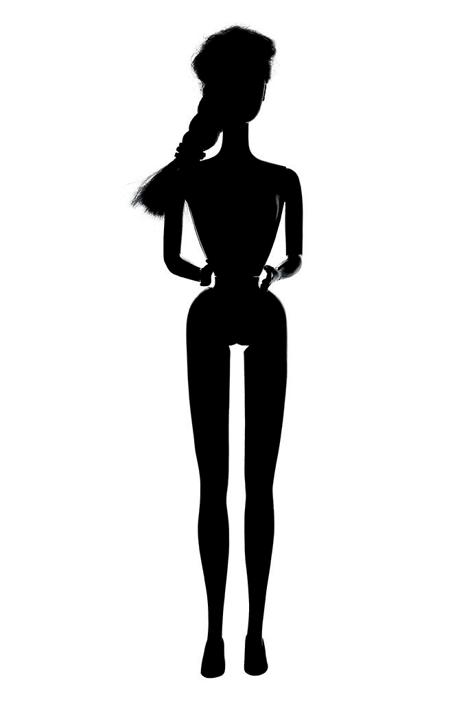 Barbie Silhouette - ClipArt Best