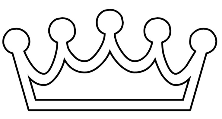 Draw princess tiara clipart best for Tiara template printable free
