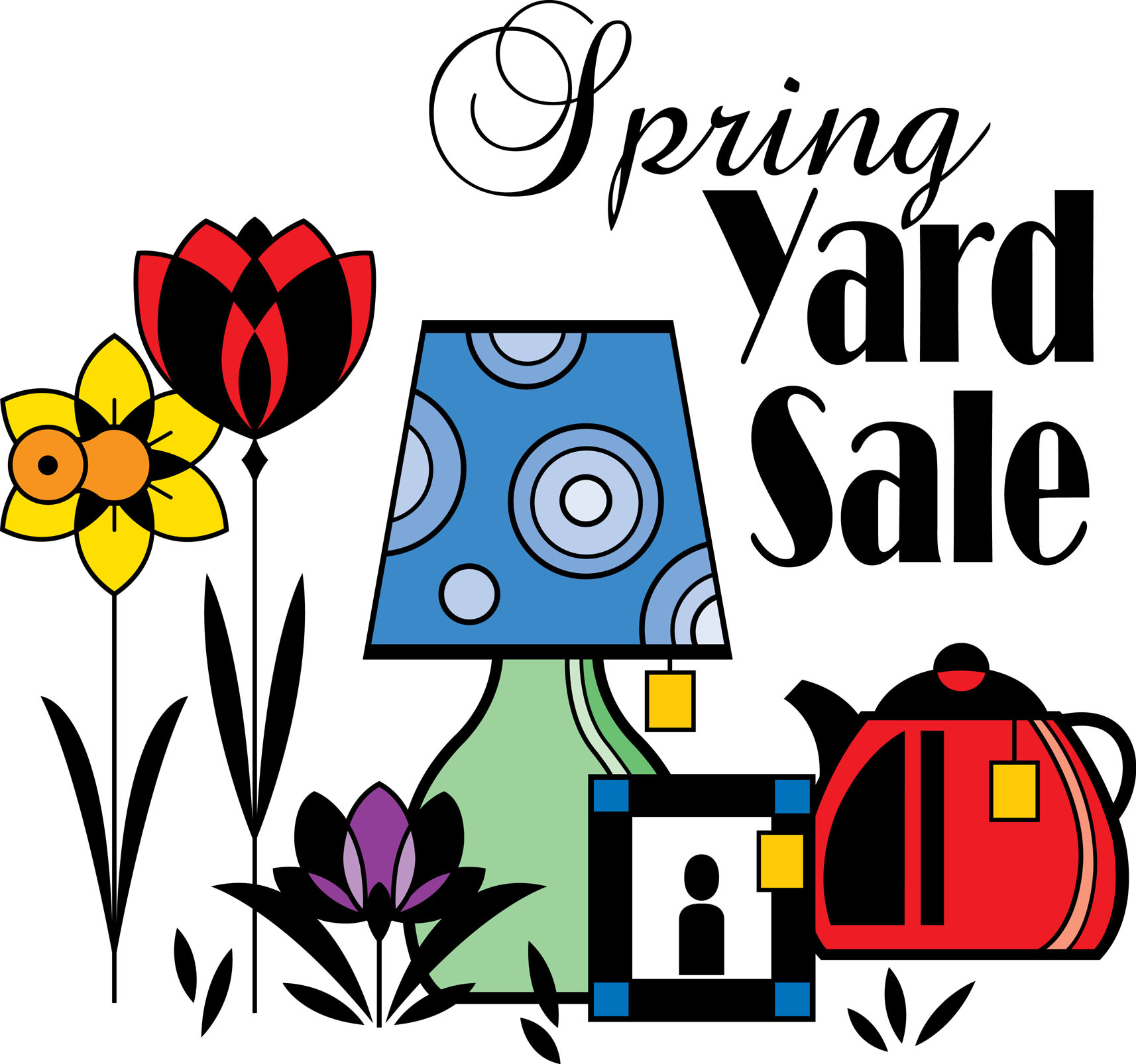 Free Clip Art On Yard Sale Signs