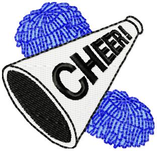 Cheer Pom Poms - ClipArt Best