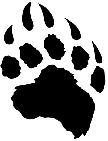 Bear Paws - ClipArt Best