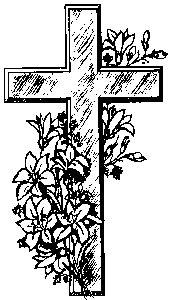 Cross With Flowers ClipArt Best