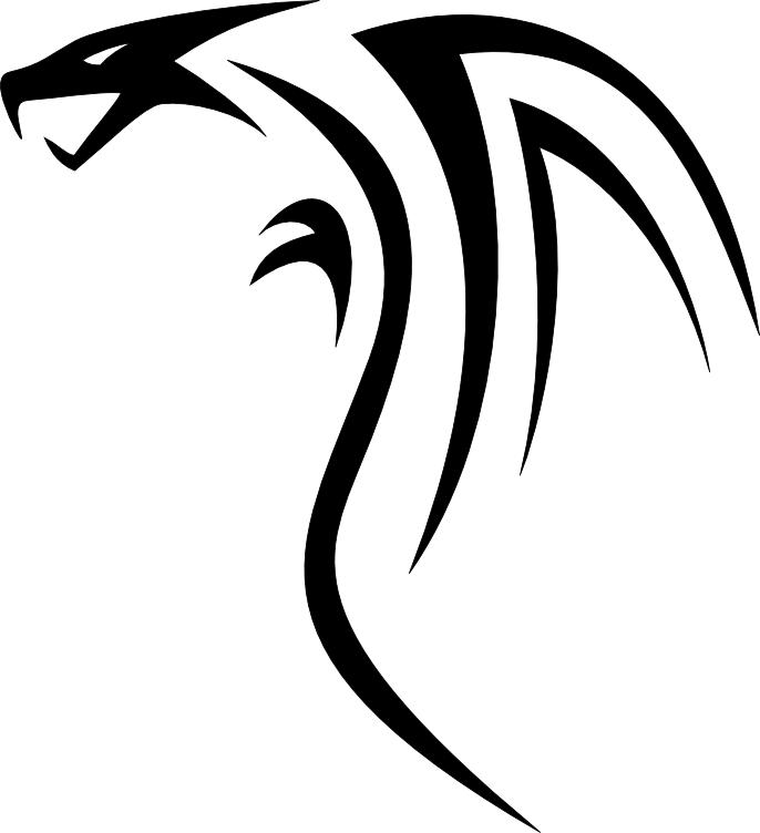 Simple Dragon Images Clipart Best