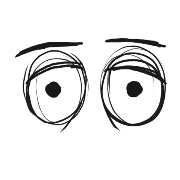 Cartoon Eyes Looking Down - ClipArt Best