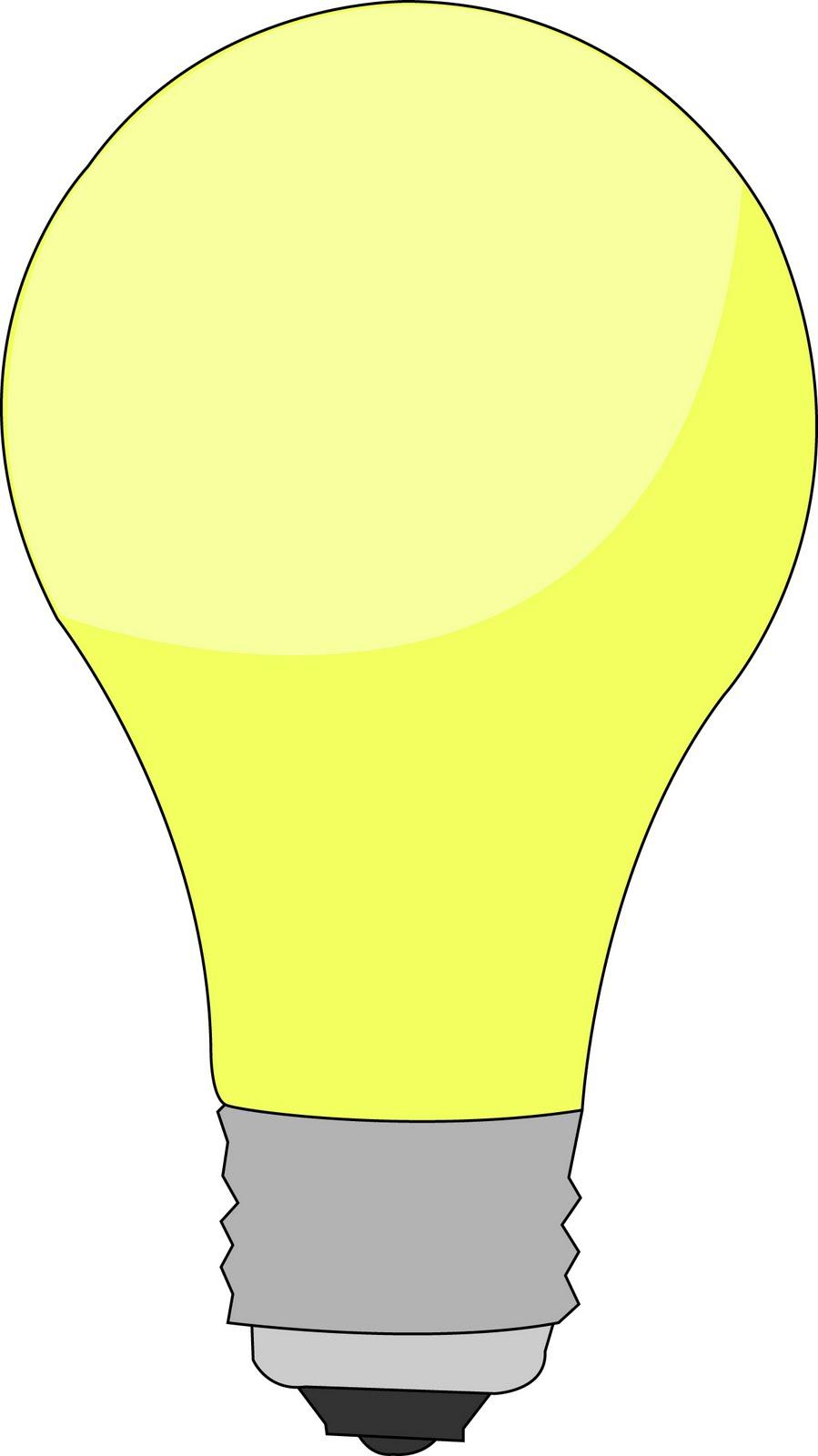 Light Bulb Drawing Light Bulb Template