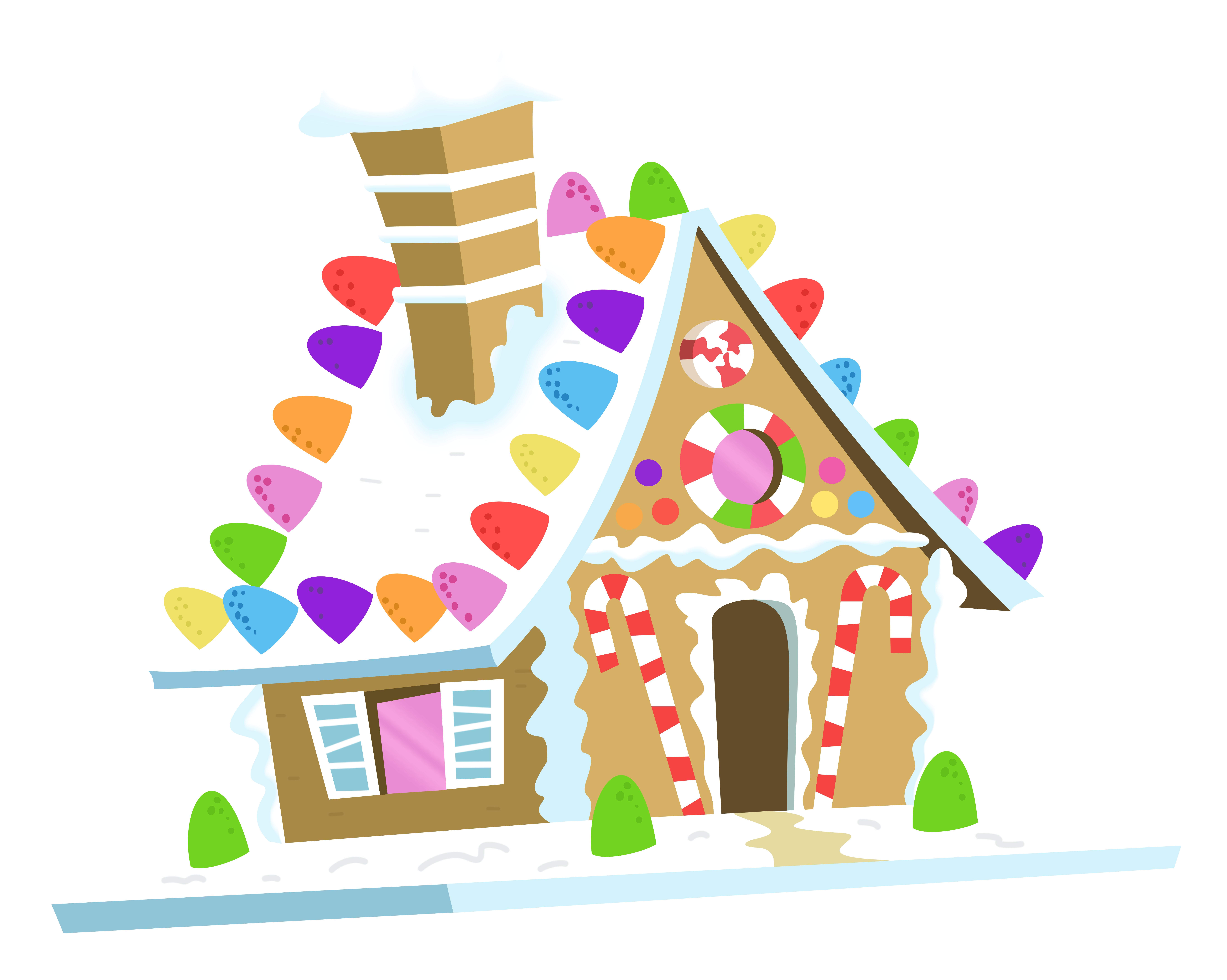 free gingerbread house clipart - photo #13