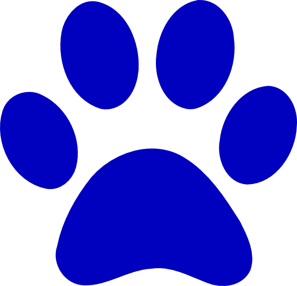 Cougar Paw Print Clip Art - ClipArt Best