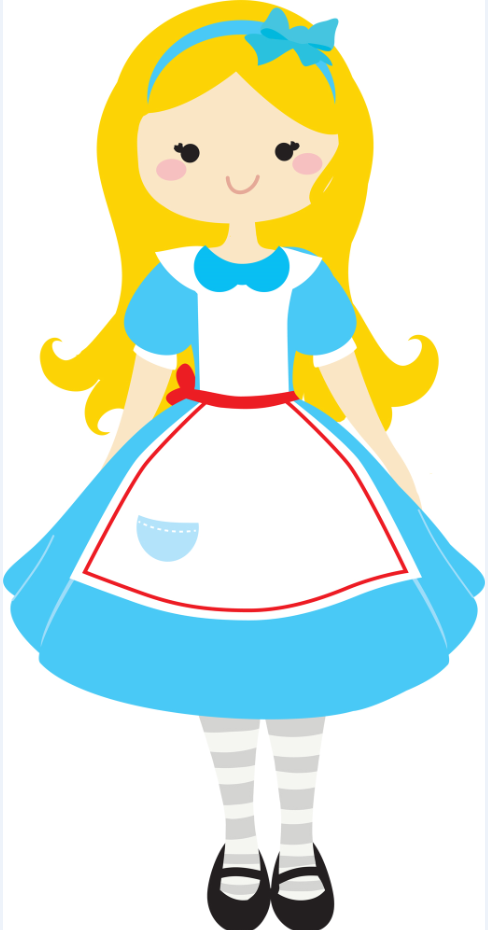 Alice in wonderland clipart png