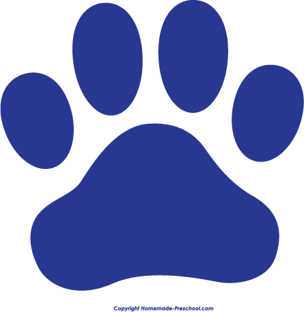 paw print pictures clipart best
