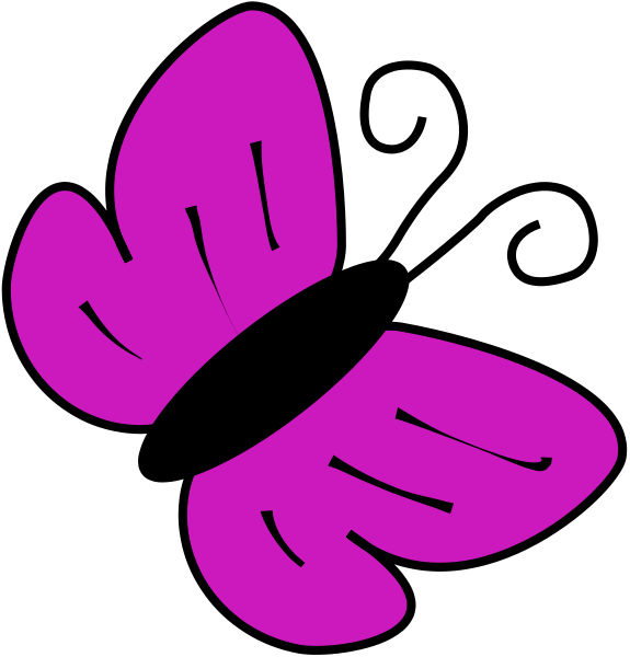 Clip Art For Butterflies - ClipArt Best