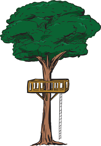 Cartoon Treehouse Pictures Clipart Best