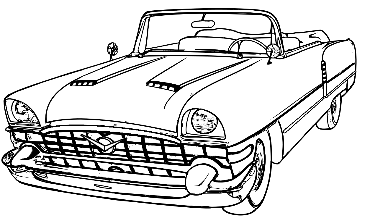 Line Drawing Vehicles : Car line drawings clipart best