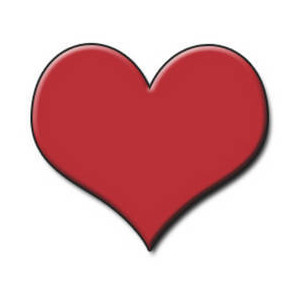 Playing Card Heart - ClipArt Best