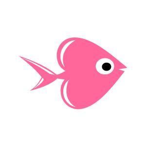 Pink Fish Clip Art - ClipArt Best