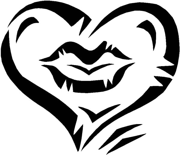 Love Hearts Drawings - ClipArt Best