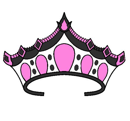 Princess Tiara Coloring Sheet Clipart Best Princess Tiara Drawing