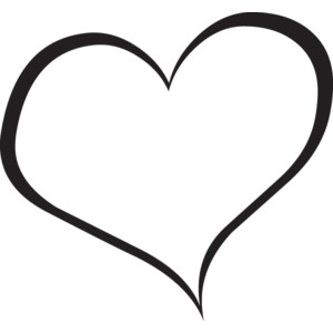 Rustic Heart Clipart Black And White - ClipArt Best
