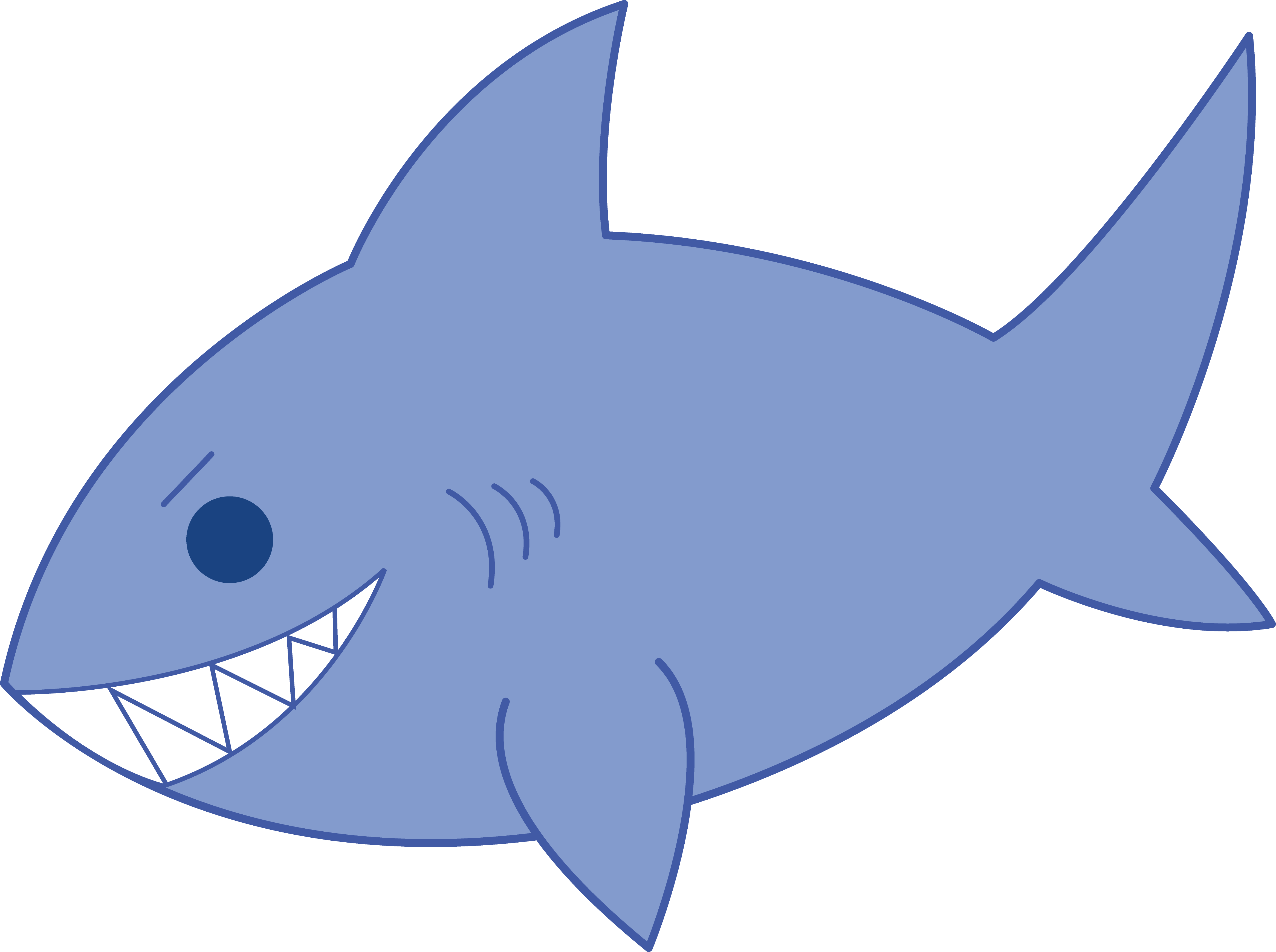 Images Of Cartoon Sharks