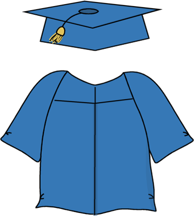 Cap & Gown Cartoon - ClipArt Best