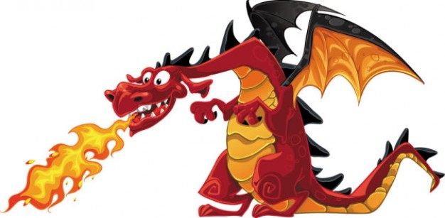 Pictures of Cartoon Dragons Breathing Fire Cartoon Dragon Breathing