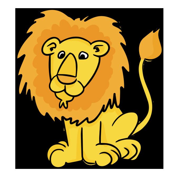 Cartoon Of Lion - ClipArt Best