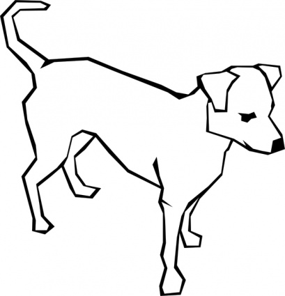 Dog Drawing Images Dog Simple Drawing Clip